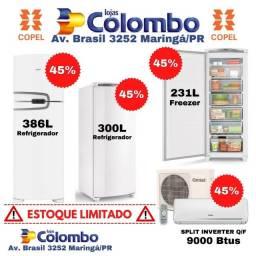 Geladeira,freezer e Ar Condicionado na metade do preço