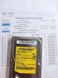 HD interno 320 Gb usado saudável