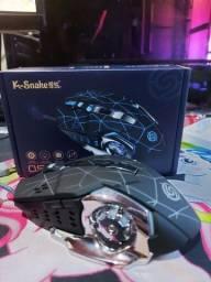 Mouse gamer rgb *NOVO* (K-SNAKE)