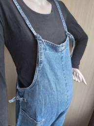 Título do anúncio: Macacão gestante jeans