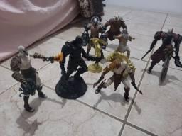 Coleção de Action Figures God of War