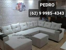 Título do anúncio: Sofá Canto e Chaise 3 metros % Por R$ 1.350,00