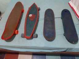 Título do anúncio: Vendo 4 skates