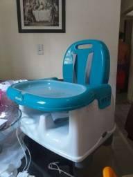 Cadeira de refeição portátil- Mila azul- infanti