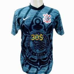 Kit 7 camisas novas tamanhos G Corinthians