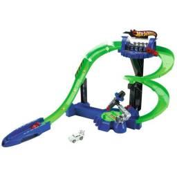Título do anúncio: Hot Wheels Light Speeders - Pista Câmara de Luz - Mattel W3860