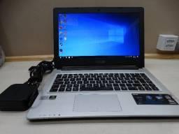 Notebook Asus i7 com Geforce 16Gb Ram + Brinde HD 500 + Adaptador
