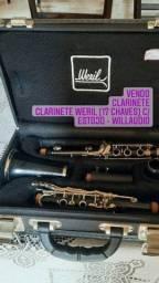 Título do anúncio: Vendo Clarinete Weril