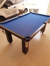 Título do anúncio: Mesa de sinuca com tampo de ping pong tênis de mesa