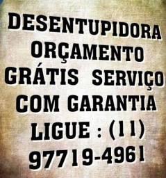 Desentupidora equipe em toda São Paulo