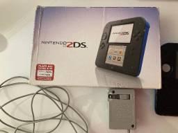 Título do anúncio: Nintendo 2ds Caixa E Serial Batendo Com 32gb em Jogos
