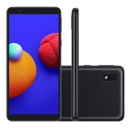Samsung Galaxy A01 Core - 16Gb - Preto - Novo