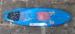 Prancha de surf fish 6.1 + deck + quilha