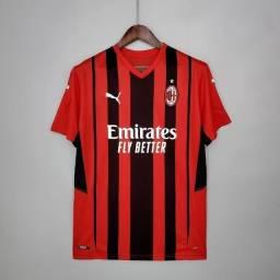 Camisa Milan 21/22 - Primeiro Uniforme