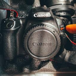 Título do anúncio: Câmera canon DSLR EOS SL3 + Lente 18-55 IS STM