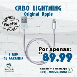 Cabo lightning Original Apple iphone  (Entrega grátis)