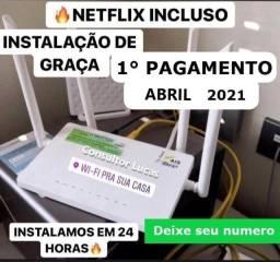 Internet com promoção de fevereiro