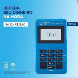 Maquina Cartão Mercado Pago Point Mini Chip Promoção!