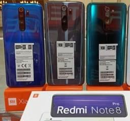 Note 8 Pro Azul/Verde/Cinza 6+64 GB