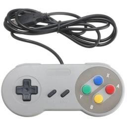 Controle/manete USB de Super Nintendo USB c para PC / tv box  - Caxias Retro game