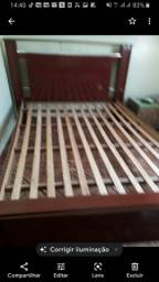 Título do anúncio: Vende-se uma cama de casal de usada
