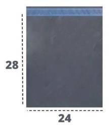 Título do anúncio: 250 Envelope De Segurança 24x28 Saco Plástico Correios Lacre