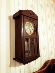 Relógio antigo de parede Junghans alemão