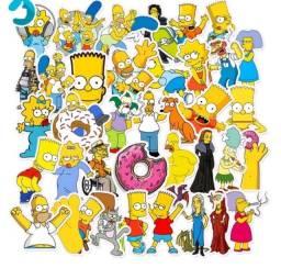 Título do anúncio: 15 adesivos do  Os Simpsons