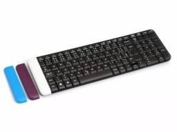 Teclado Logitech Wireless Compacto K230 Preto