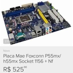 Placa Mãe Foxconn P55mx/h55mx Socket 1156 comprar usado  Sorocaba