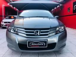 Honda City 2012 lx automático + bancos de couro, carro impecável !!! - 2012