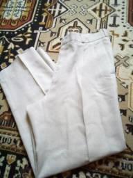 2 calças social, número 50,seminovos