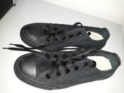 Tênis Converse preto 35