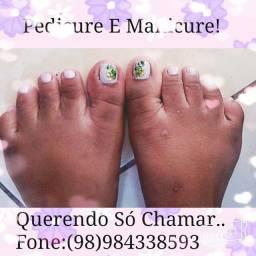 Manicure E Pedicure!              Fone: *