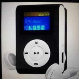Kit com 1 MP3 Digital Player e rádio FM e uma caixinha Bluetooth por 50,00 reais: