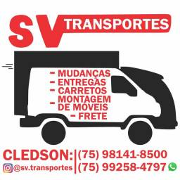 Mudança/ Frete/ Carreto/ Entregas/ Transbordo