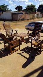 Cadeira e móveis  rustico