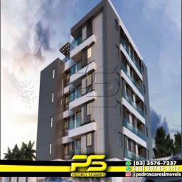 Título do anúncio: Apartamento com 2 dormitórios à venda, 60 m² por R$ 216.900,00 - Altiplano Cabo Branco - J