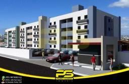 Oportunidade, apartamento, 02 quartos, suíte, piscina, 61,29m², por apenas R$ 125.000,00,