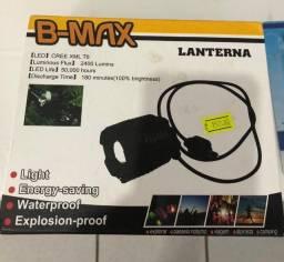 Lanterna LED B-Max (original e nova)