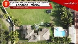 Chácara com 6 dormitórios à venda, 2700 m² por - Condado de Maricá - Maricá/RJ