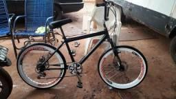 Bike aro 24 zero vendo ou troco por modulo