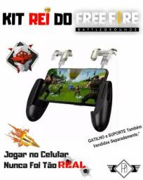 Kit Rei Do Free Fire Suporte + Gatilho