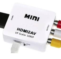 Conversor Mini Adaptador De Hdmi P Video 3 Rca Av