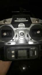 Rádio Futaba 6ch 2.4Gz