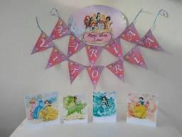 decoração princesas 35,00
