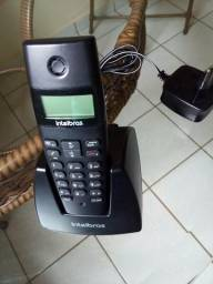 Telefone sem fio Intelbras novo