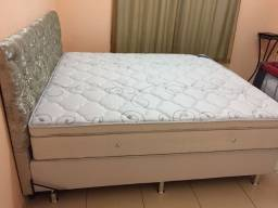 :: Promoçao Cama Box + Colchao Freedom Ortobom Queen Size 158x198 A Pronta Entrega