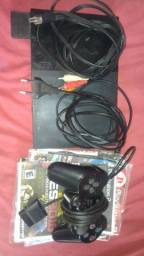 Vendo Play 2 com 1 controle 11 jogos e 1 Memory