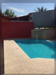 Casa com piscina Itanhaém bairro bopiranga 400 reais a diria ? temporada